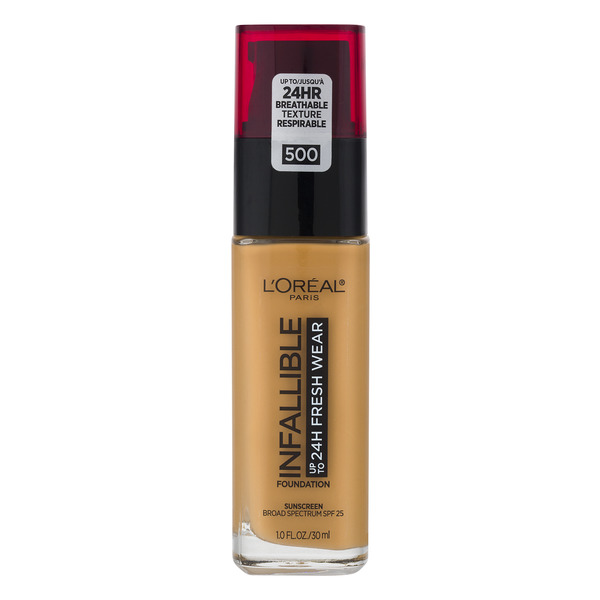 L'Oreal INFALLIBLE up to 24H Fresh Wear Foundation Honey Bisque 500