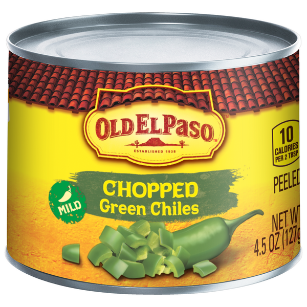 Old El Paso Chopped Green Chiles Mild