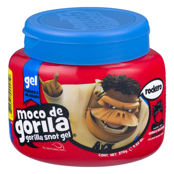 Moco de Gorila Hair Gel Rockero