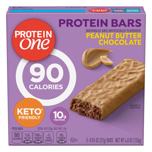 Protein One Protein Bars Salted Caramel Crisp - 5 ct