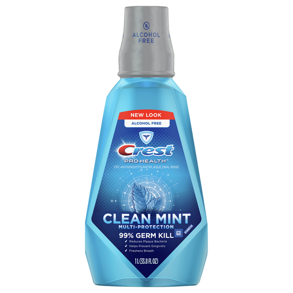 Crest Pro-Health Oral Rinse Multi-Protection Clean Mint