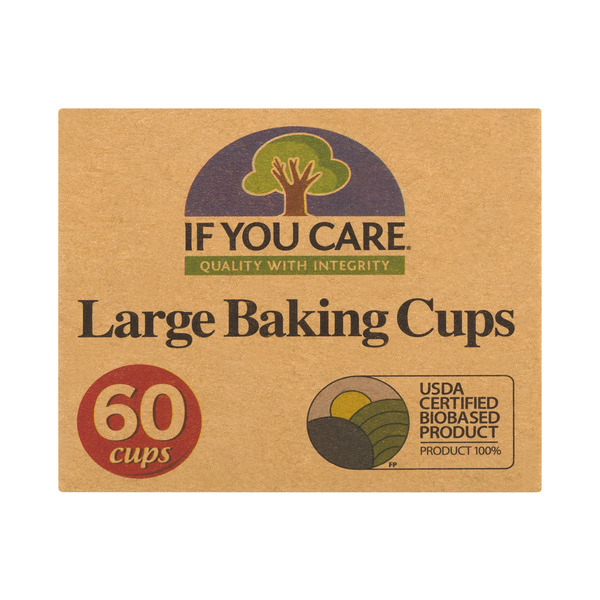 If You Care Baking Cups Large 100% Unbleached