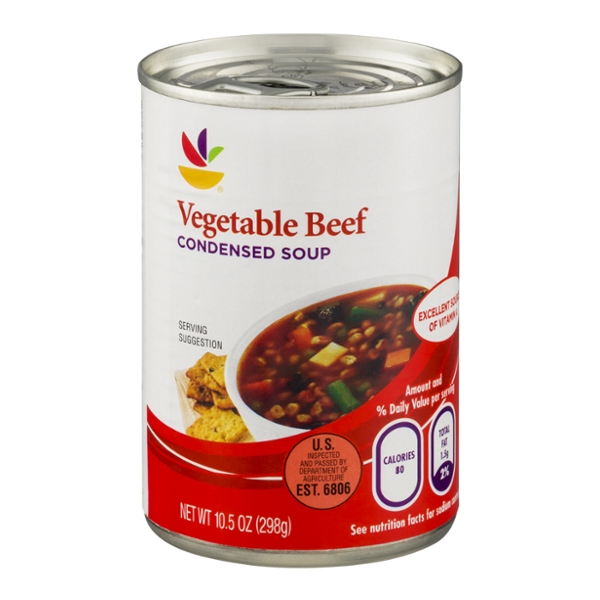 GIANT Vegetable Beef Condensed Soup