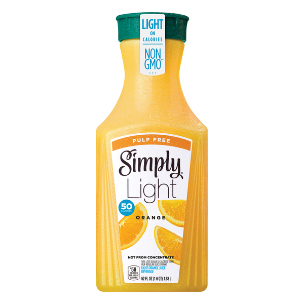Simply Orange Light Pulp Free