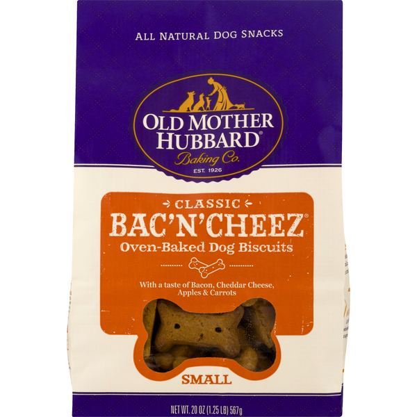 Old Mother Hubbard Dog Biscuits Oven-Baked Bac'N'Cheez Classic Small
