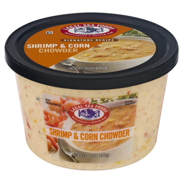 Legal Sea Foods Shrimp & Corn Chowder Refrigerated