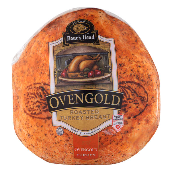 Boar's Head Deli Turkey Breast Ovengold Roasted (Shaved)