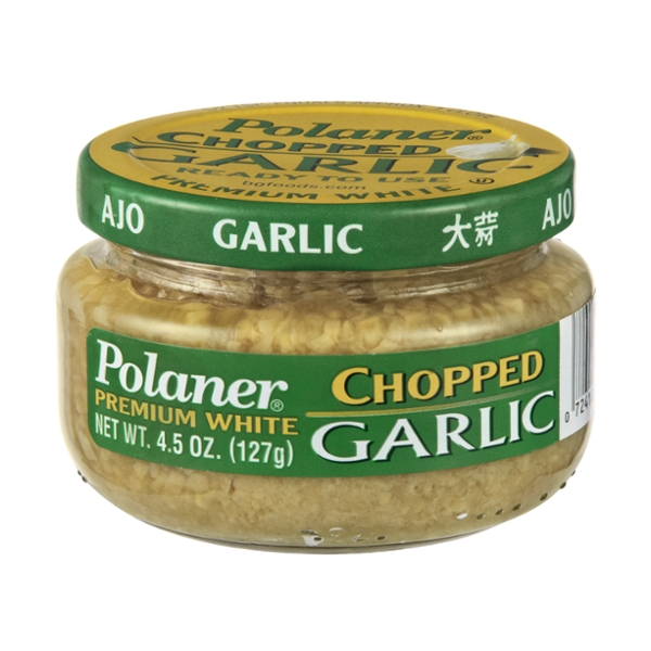 Garlic Premium White Chopped Polaner