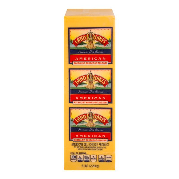 Land O Lakes Deli American Cheese Product Yellow (Thin Sliced)