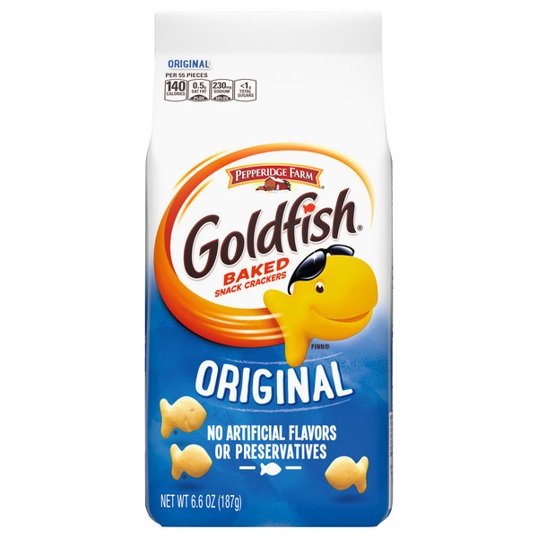 Pepperidge Farm Goldfish Baked Snack Crackers Original