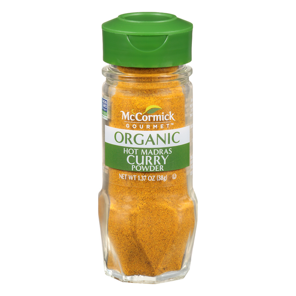 McCormick Gourmet Hot Madras Curry Powder Organic