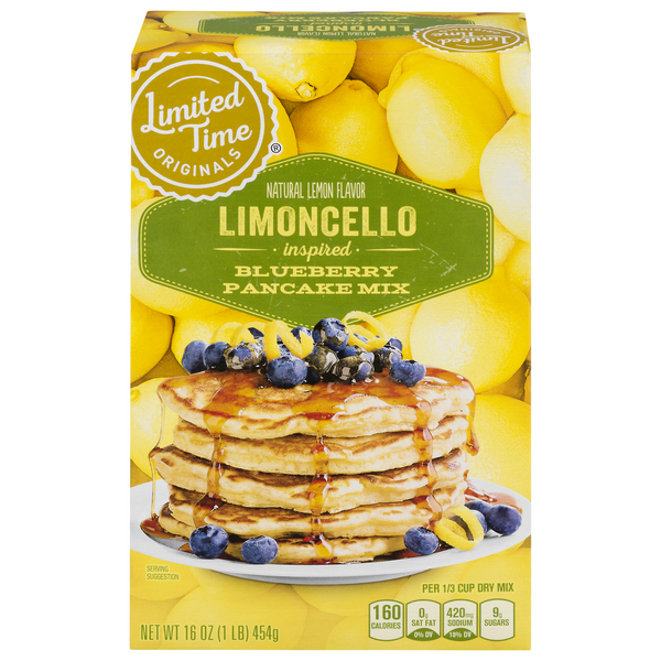 GIANT Limited Time Pancake Mix Limoncello Blueberry