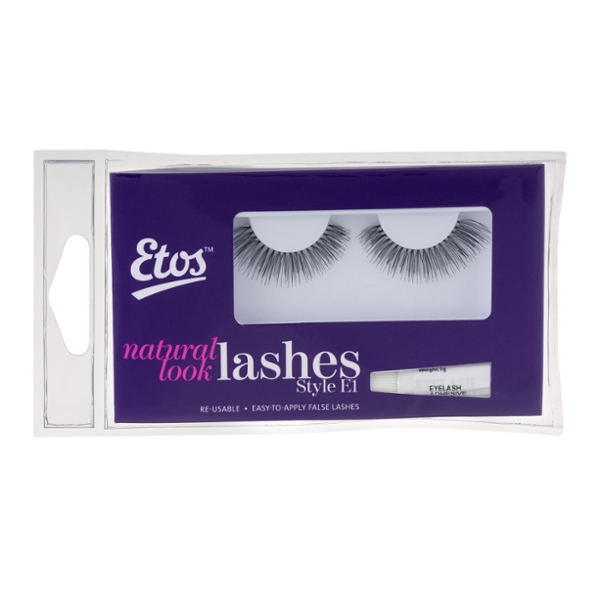 Etos Natural Look Lashes Style E1