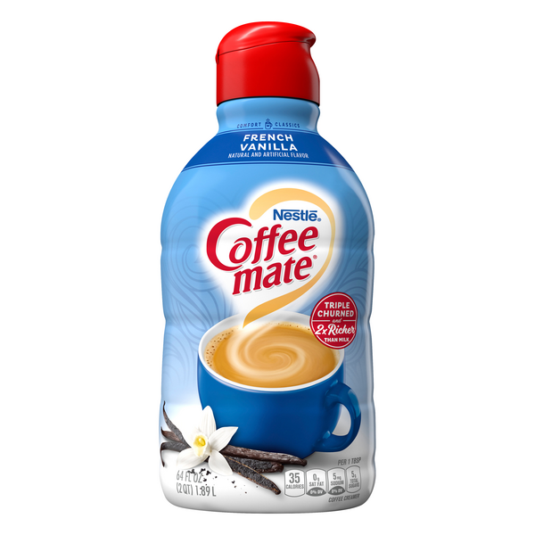Nestle Coffee-mate Liquid Coffee Creamer French Vanilla Refrigerated
