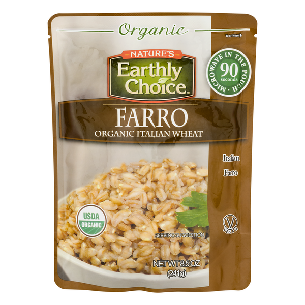 Nature's Earthly Choice Farro Italian Wheat Organic