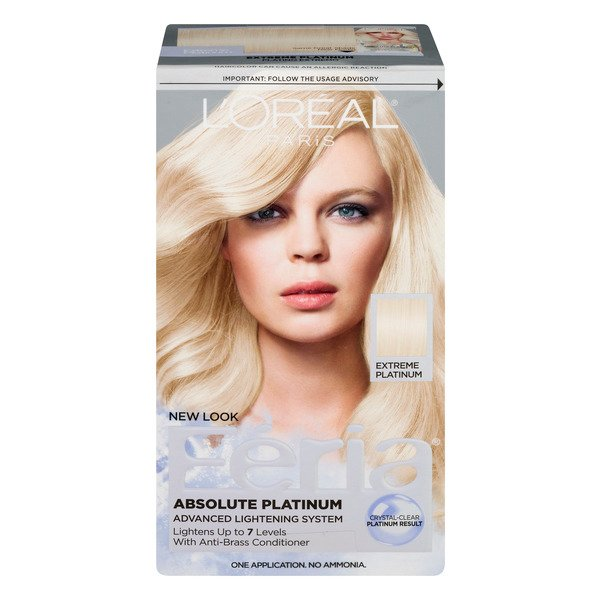 L'Oreal Paris Feria Permanent Hair Color Extreme Platinum