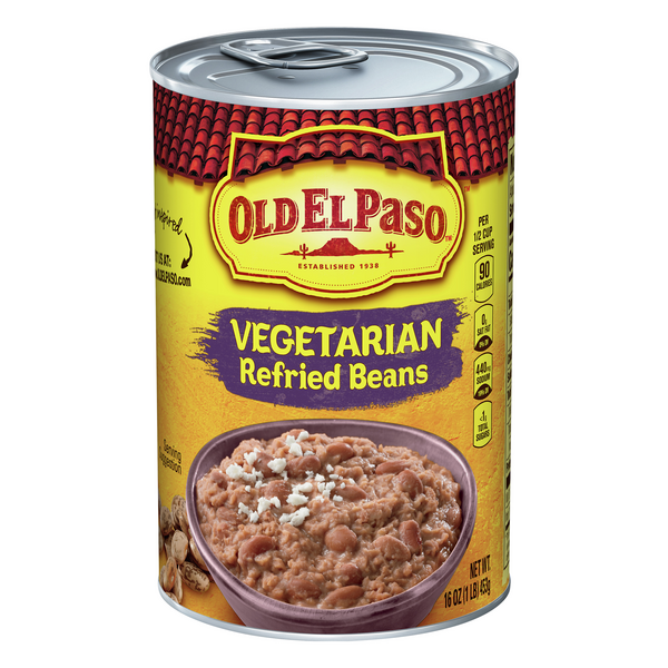 Old El Paso Refried Beans Vegetarian