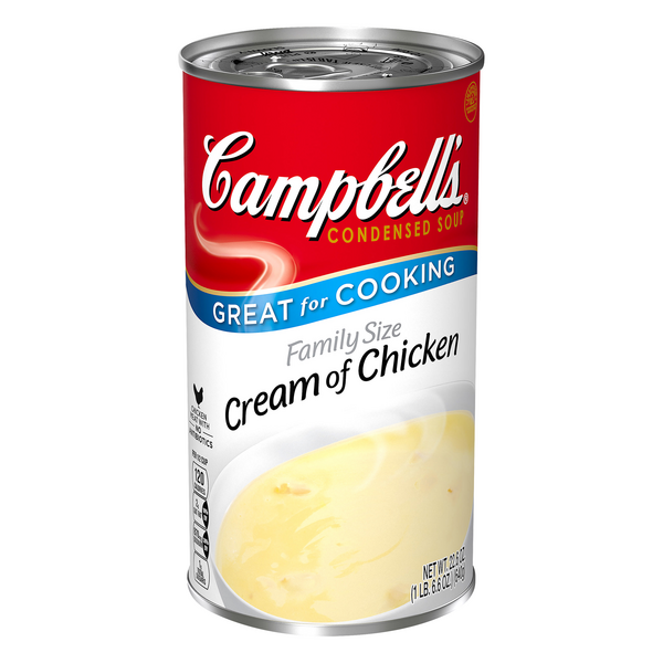 Campbell's Cream of Chicken Condensed Soup Family Size