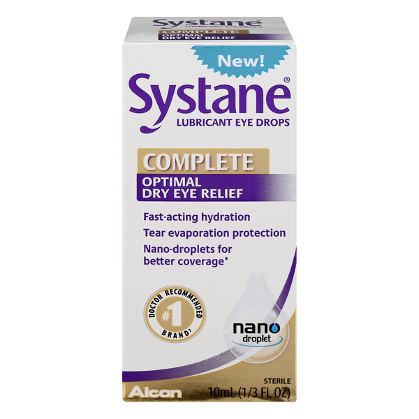 Systane Complete Optimal Dry Eye Relief Drops