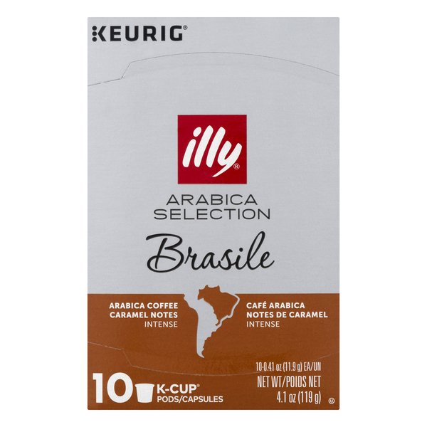 Illy Arabica Selection Brasile Coffee K-Cups