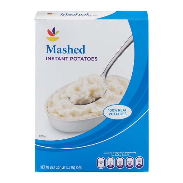 Giant Instant Mashed Potatoes