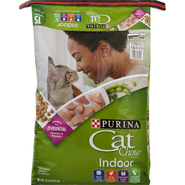 Purina Cat Chow Indoor Formula Adult Dry Cat Food Chicken