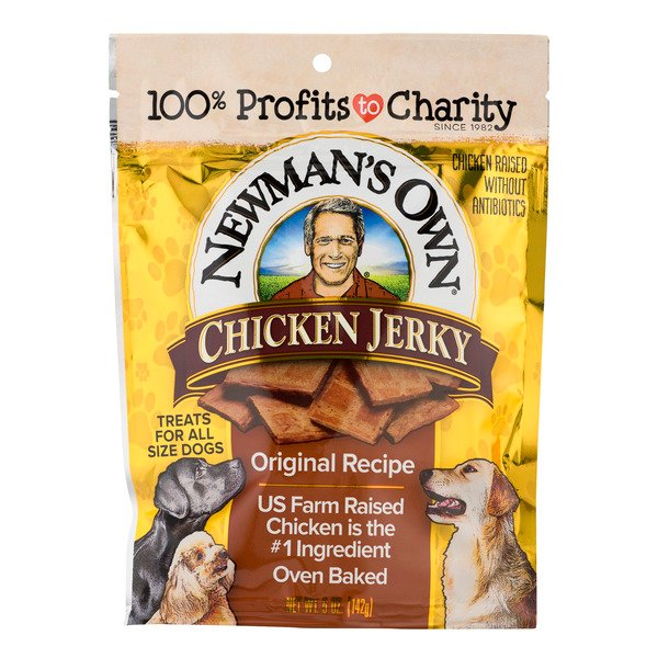 Newman's Own Chicken Jerky Treats For Dogs Original Recipe