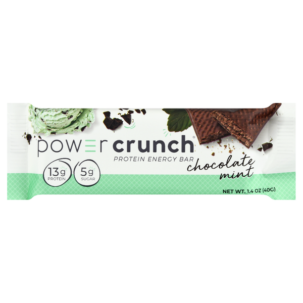 Power Crunch Protein Energy Bar Original Chocolate Mint