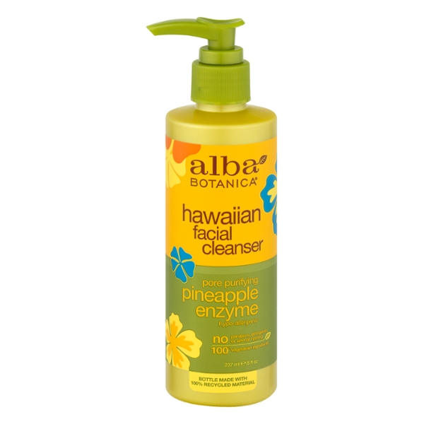 Alba Botanica Hawaiian Facial Cleanser Hypo-Allergenic Pineapple Enzyme