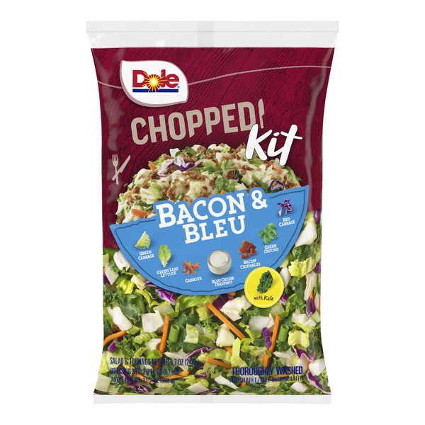 Dole Chopped Salad Kit Bacon & Bleu