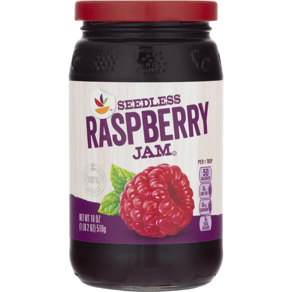 Stop & Shop Seedless Jam Raspberry