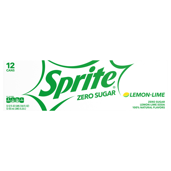 Sprite Zero Lemon-Lime Soda - 12 pk