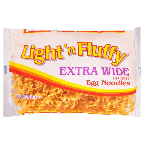 Light 'n Fluffy Egg Noodles Extra Wide