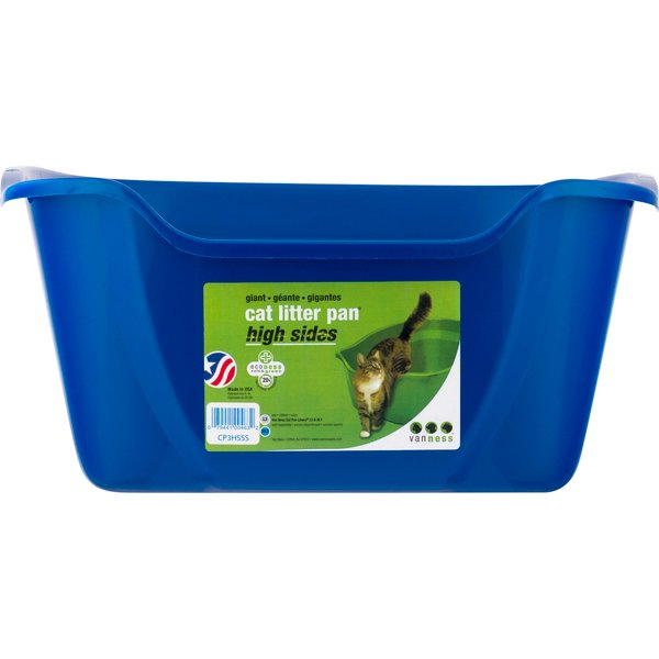 Vanness Cat Litter Pan High Sides Giant
