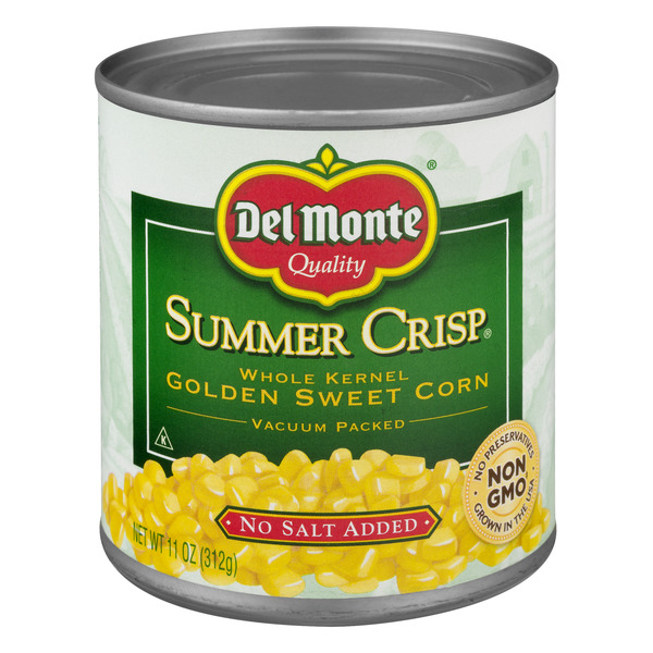 Del Monte Whole Kernel Golden Sweet Corn No Salt Added