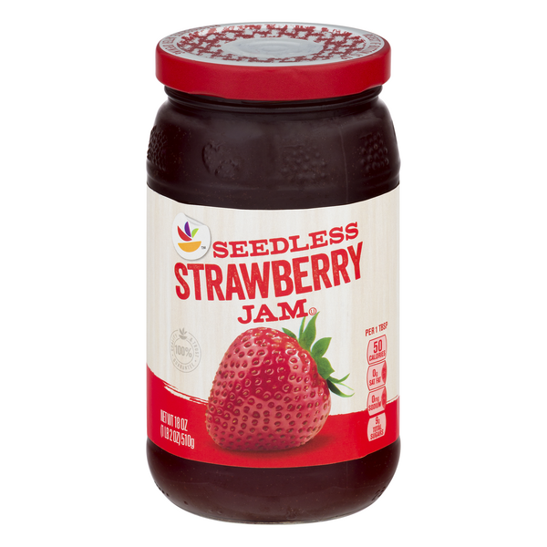 Stop & Shop Seedless Strawberry Jam
