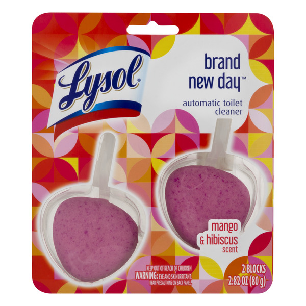 Lysol Automatic Toilet Cleaner Mango & Hibiscus