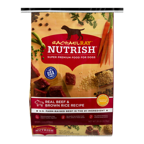 Rachael Ray Nutrish Super Premium Dog Food Real Beef & Brown Rice Natural