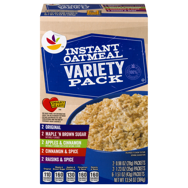MARTIN'S Instant Oatmeal Variety - 10 ct