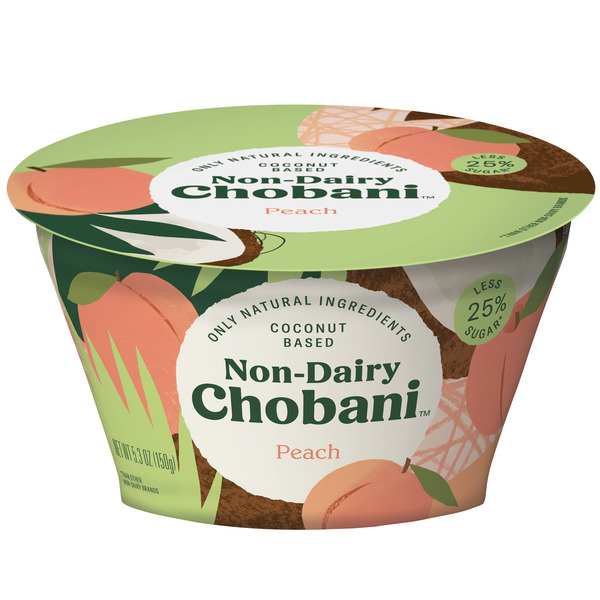 Chobani Coconut Based Non-Dairy Peach
