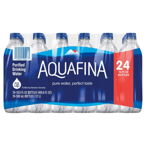 Aquafina Purified Drinking Water - 24 pk