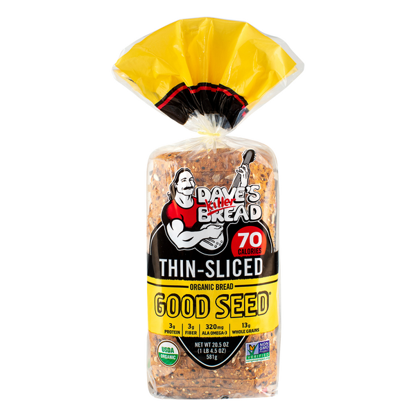 Dave's Killer Good Seed Bread Thin Sliced Organic