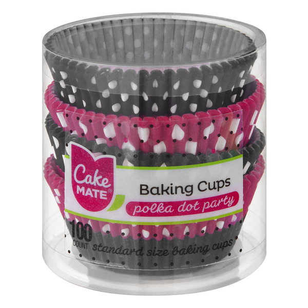 Cake Mate Baking Cups Polka Dot Party