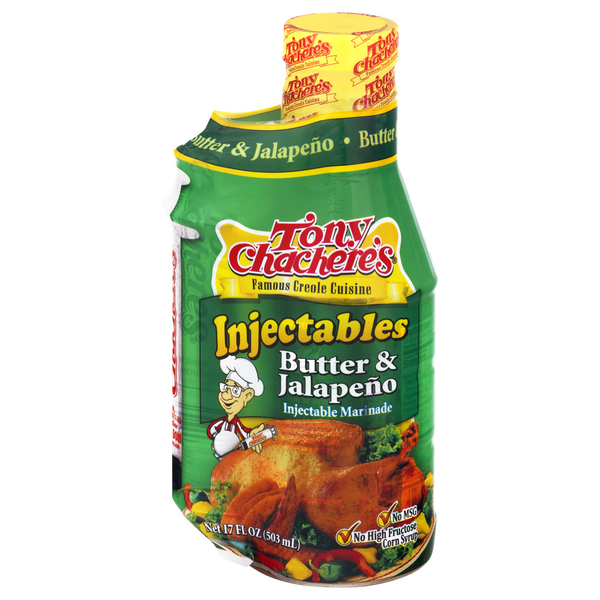 Tony Chachere's Injectables Marinade Butter & Jalapeno
