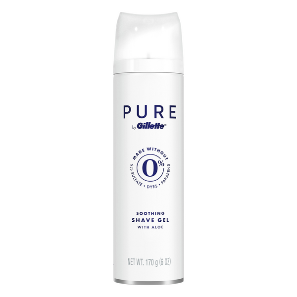 Pure by Gillette Men's Soothing Shave Gel with Aloe