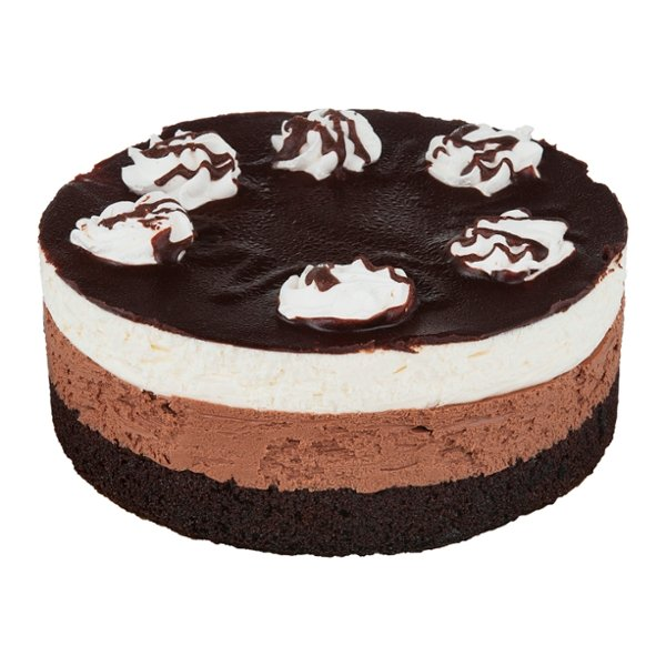 Stop & Shop Bakery Cake White Cake with Chocolate Mousse 7 Inch