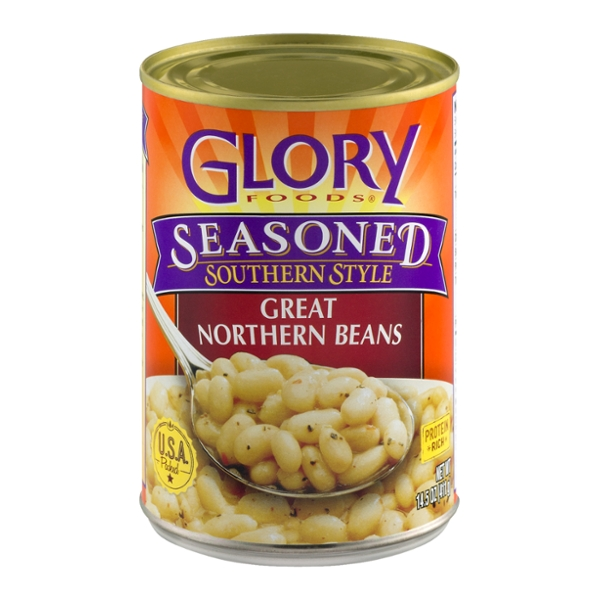 Glory Foods Great Northern Beans Seasoned Southern Style