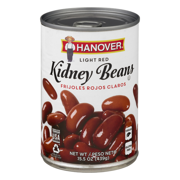 Hanover Redskin Kidney Beans Light Red