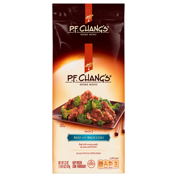 P.F. Chang's Home Menu Meals for 2 Beef with Broccoli