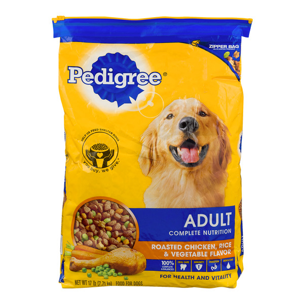 Pedigree Adult Complete Nutrition Dog Food Chicken, Rice & Vegetable